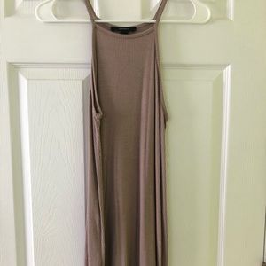 Forever 21 taupe summer dress